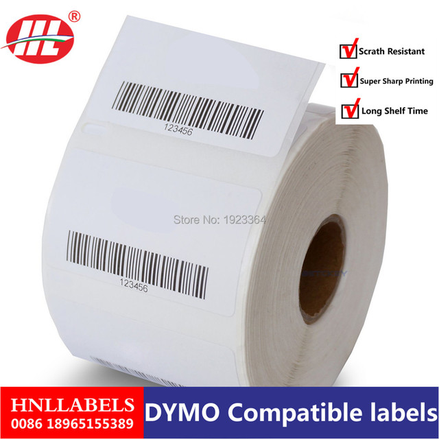 US $279 0 |Dymo 11354 Label 57mm*32mm 1000Pcs Dymo Compatible for  LabelWriter 400 450 450Turbo Printer Seiko SLP 440 450-in Copy Paper from  Office &