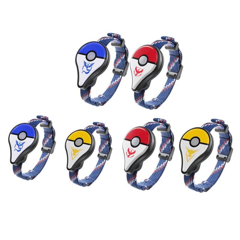 2 piezas/1 unid para Pokemon Go Plus Bluetooth pulsera reloj de pulsera juego accesorio para Nintendo para Pokemon ir plus inteligente muñequera