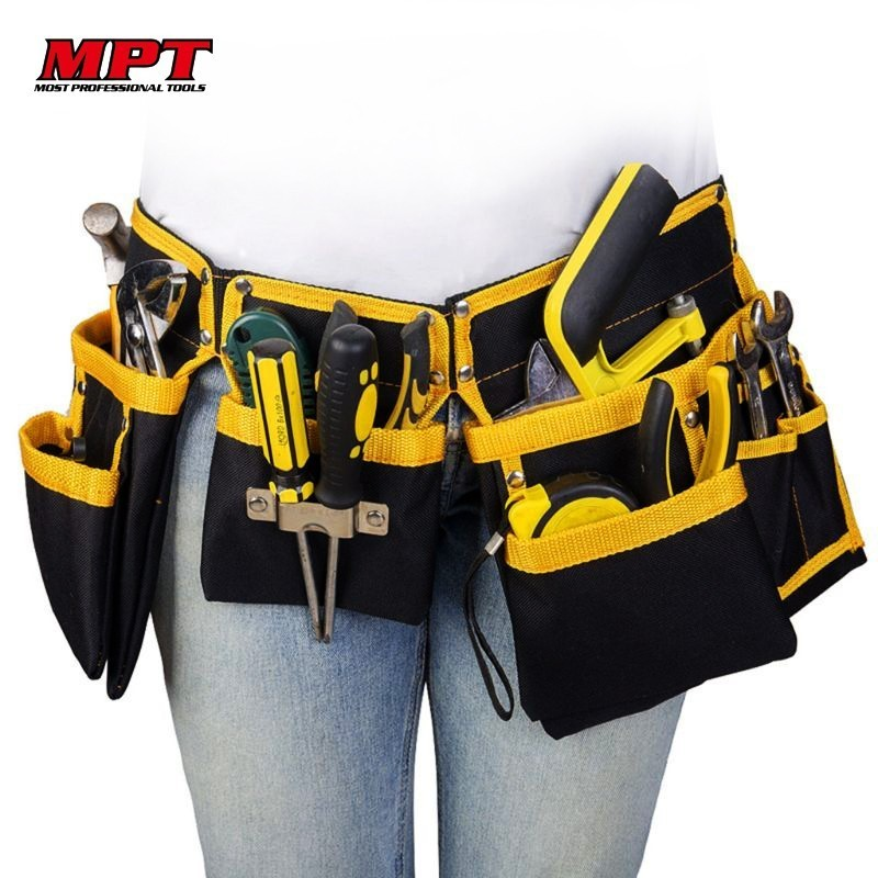 Organizer Belt Storage-Holder Waist-Pouch Electrician-Tools Multi-Functional Bag