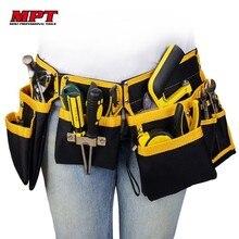 Многофункциональный электрик Инструменты сумка поясная сумка ремень держатель для хранения Органайзер