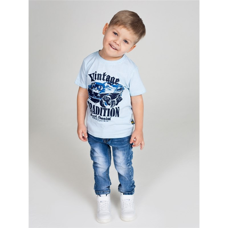 Фото T-Shirts Sweet Berry T-shirt knitted for boys children clothing kid clothes