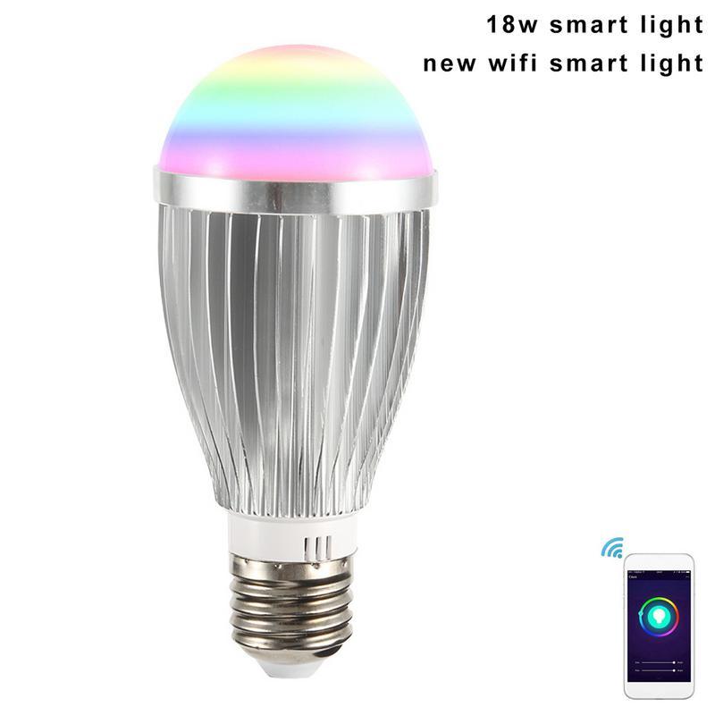 New Arrival 18w Smart Light Wifi Bulb Super Bright Wifi Light Smart With High Power Bulb Smart Hot Selling Light