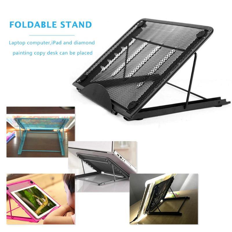 Foldable Adjustable Stand For IPad Samsung Xiaomi Tablet PC Laptop Desk Holder Bracket For Digital Tablet Drawing Board Rending