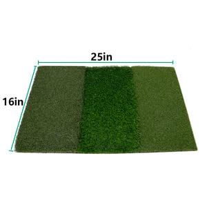 Image 5 - גולף דשא מחצלת כוללת הדוק שקר מחוספס ומעבר פתוח עבור נהיגה ולשים בפועל גולף והכשרה 3 ב  1 דשא דשא מחצלת