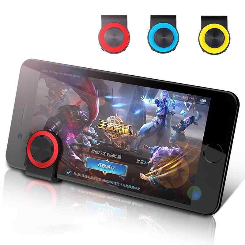 Мини-игровой джойстик EastVita с клипсой для мобильных игр, джойстик для игр для Android iPhone, сенсорный экран, мобильный телефон