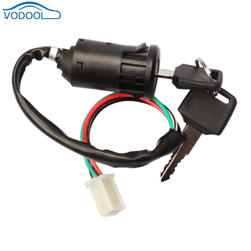 Universal Motorcycle Motorbike Ignition Switch Key For Motorcycles Dirt Bike ATVs Scooter Honda For Yam Suzuki Car Accessaries
