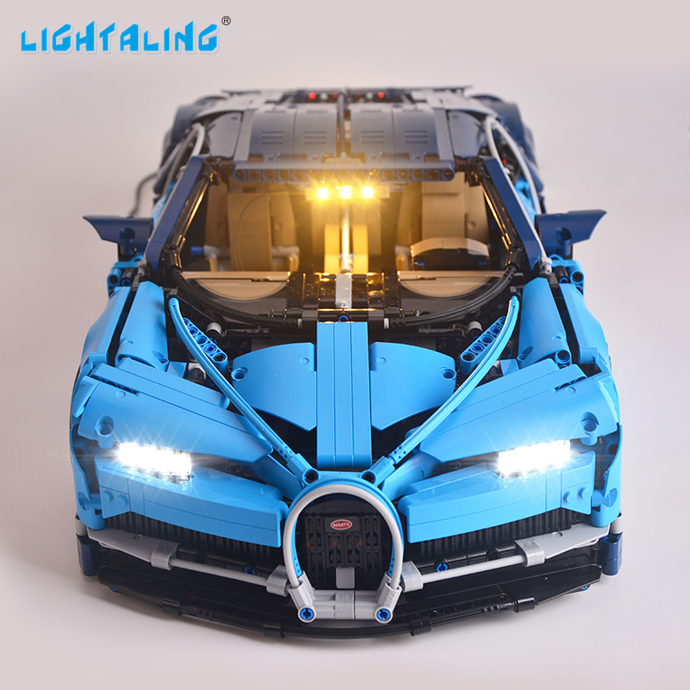 Lightaling Light Set For Technic Series Chiron LED Light Kit Compatible With Bugatti 42083 and 20086 (NOT Include The Model)Lightaling Light Set For Technic Series Chiron LED Light Kit Compatible With Bugatti 42083 and 20086 (NOT Include The Model)