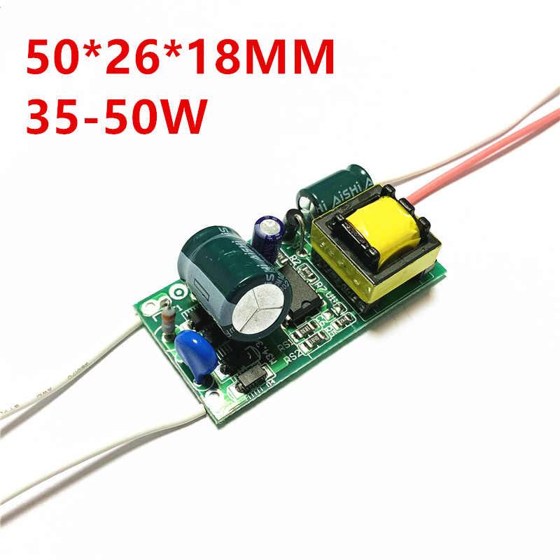 1-3 W 4-6 W 7-9 W 8-18 W 12-20 W 18-25 W 20-30 W 35-50 W LED alimentation du conducteur éclairage à courant constant intégré 85-transformateur 265 V