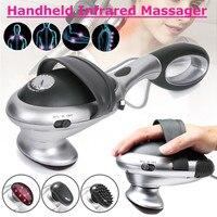 Handheld Electric Body Heated Massager stick Infrared Body neck Back massage waist cervical massager Massager Hammer Vibration