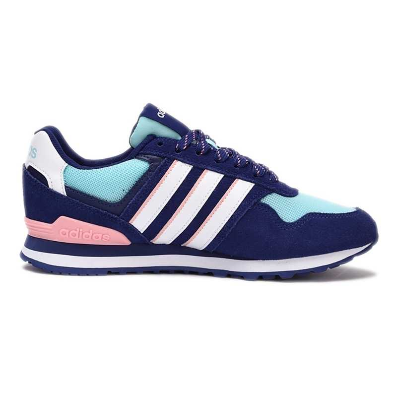 Adidas Neo 10K W Women's Skateboarding Shoes Comfortable Breathable Shoes Outdoor Sports Sneakers #B74716 BB9803 BB9805