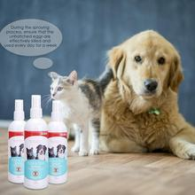 Pet Dog Cat Anti-worms Delousing Spray Natural Plant Extracts The Insecticidal Components Body Cleaning Care Supplies