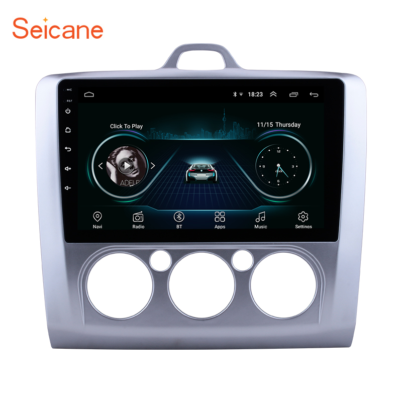 Seicane Android 8 1 9 2Din GPS Multimedia Player Car Radio For ford focus EXI MT