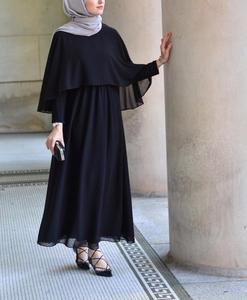 Image 5 - Arabischen Vestidos 2019 Lange UAE Abaya Dubai Kaftan Kimono Leinen Maxi Muslimischen Schal Bodycon Hijab Kleid Frauen Türkisch Islamische Kleidung