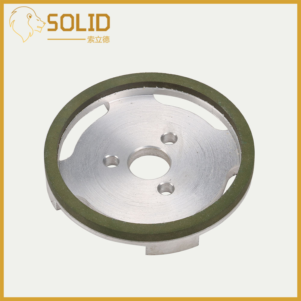 100x20mm CBN Diamond Resin Grinding Wheel For Paper Mill Cutting Blade Abrasive Tool