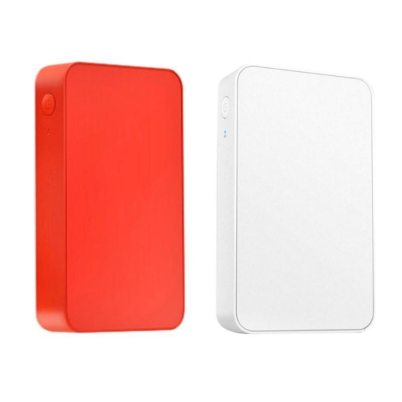 Draagbare Thermische Bluetooth Printer Mini Draadloze Kleurrijke Picture Photo Printer Voor Android Ios Mobiele Telefoon Foto Accessoires