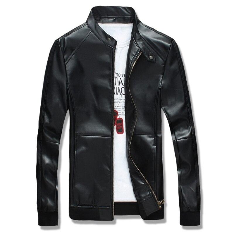 Fantuoshi 2017 veste de moto en cuir pour hommes veste en cuir pour hommes vestes en cuir pour hommes manteaux en cuir Zip