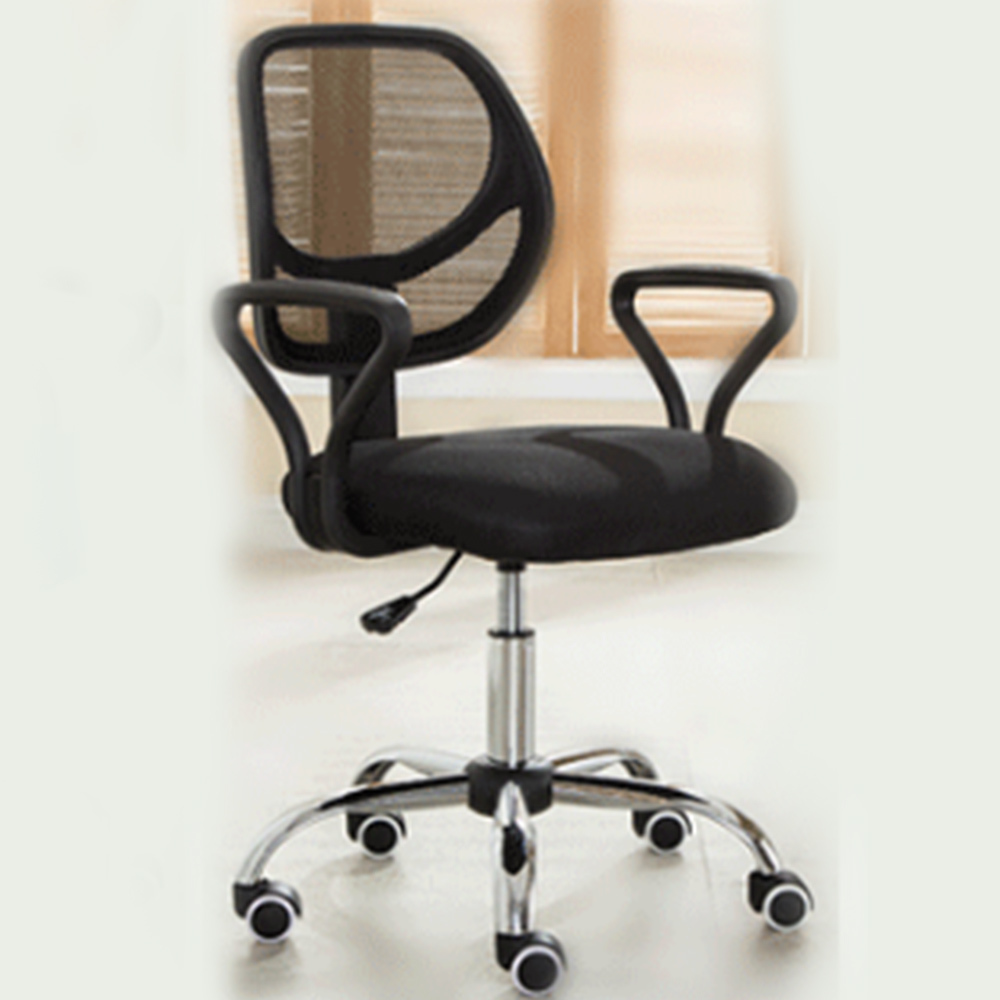 Plastic Can Slide To Work In Office Staff Member Company Meeting Computer Commercial Economics Type Chair