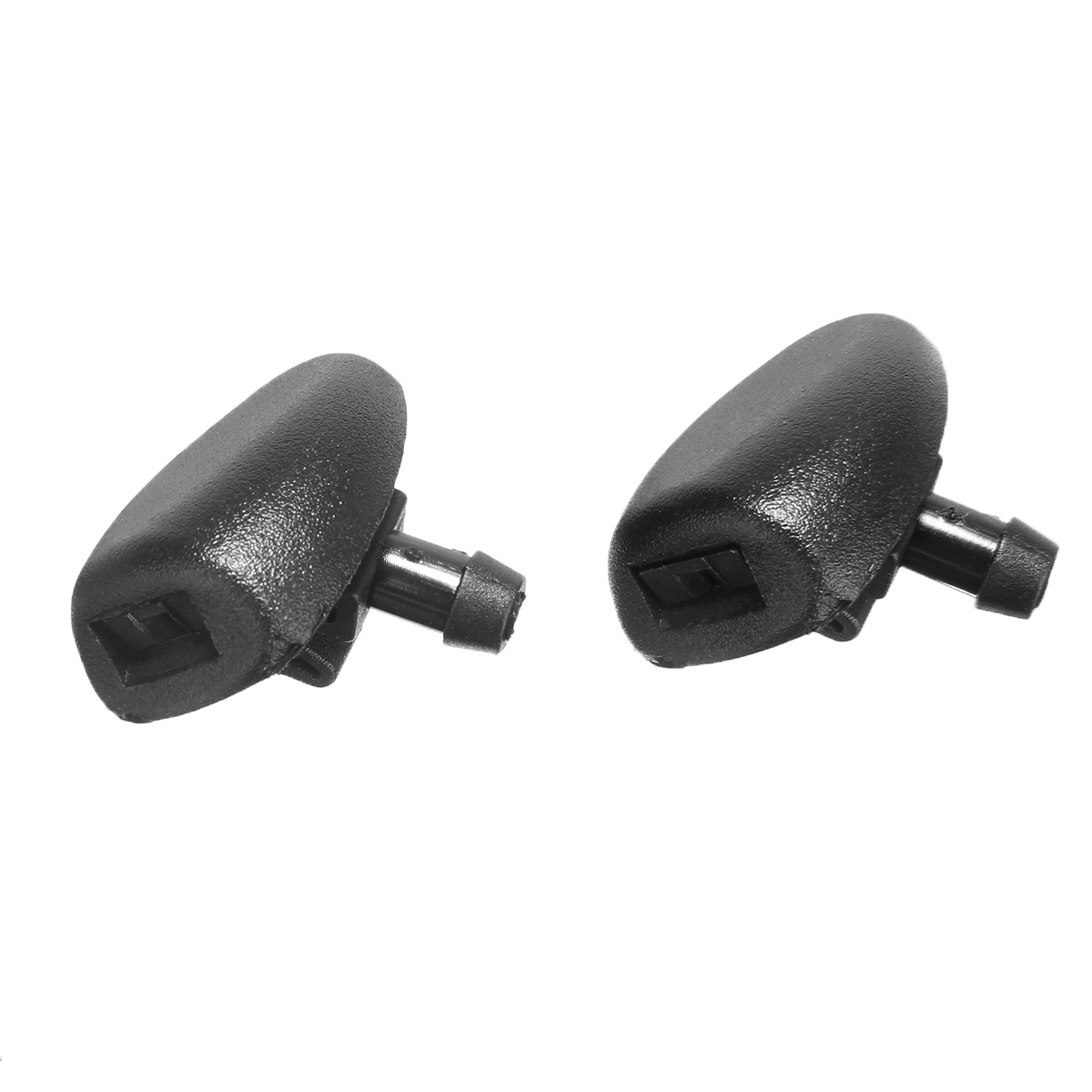 Mayitr For Peugeot 407 206 2Pcs/set Car Front Windshield Wiper Jet Washer Nozzle