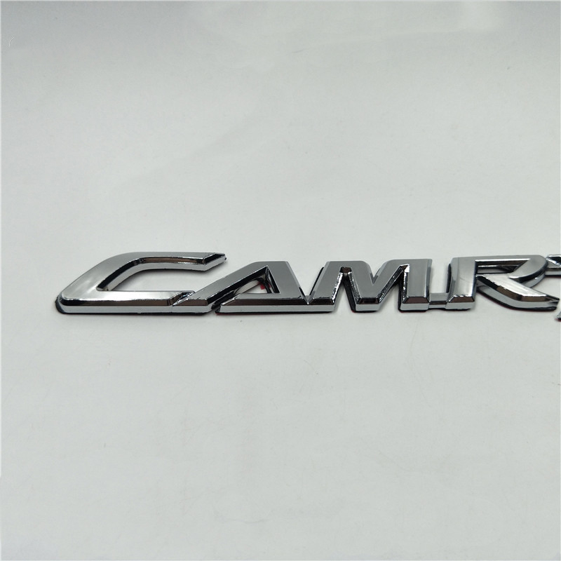 Car Stickers And Decals JDM Style For Toyota Camry Emblem Letters Rear Tail Trunk Logo Badges Nameplate Stickers Car Accessories emblem