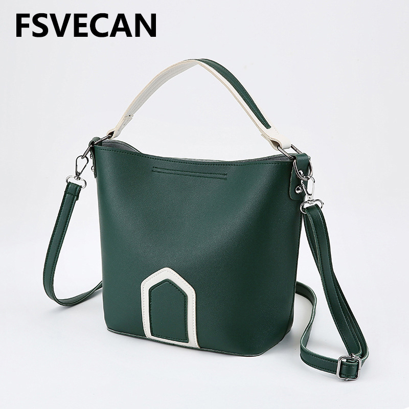 2019 Ladies Crossbody Hand Bags For Women Fashion Korean Luxury Designer Handbag High Quality Shoulder Bucket Bag Waman Spring