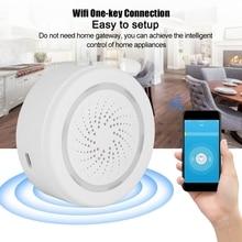 Smart Wireless USB Sensor Siren App Push Alerts Compatible for Alexa and Google Play sirena alarma alarm systems security home