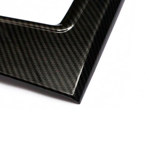 Image 4 - For Mazda CX 5 CX5 2017 2018 ABS Carbon Fiber Texture Car Gear Shift Panel Cover ONLY LHD