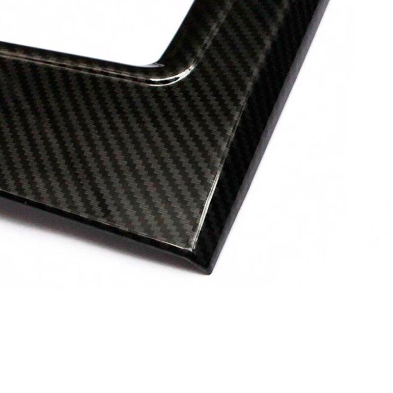 Image 4 - Для Mazda CX5, 2017 2018 ABS карбоновая текстура автомобиля переключения передач Панель крышка только LHD-in Лепнина для интерьера from Автомобили и мотоциклы