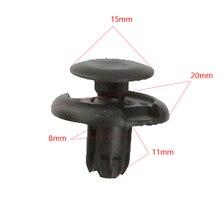 Nylon Door Trim Panel Retainers Fasteners Clips for Honda 91501-S04-003 Pack of 30