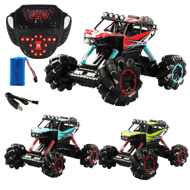 2.4G 338 Remote Control Car Toy Drift Climbing Toys Dancing LED Music Deformation Off-road Car2.4G 338 Remote Control Car Toy Drift Climbing Toys Dancing LED Music Deformation Off-road Car