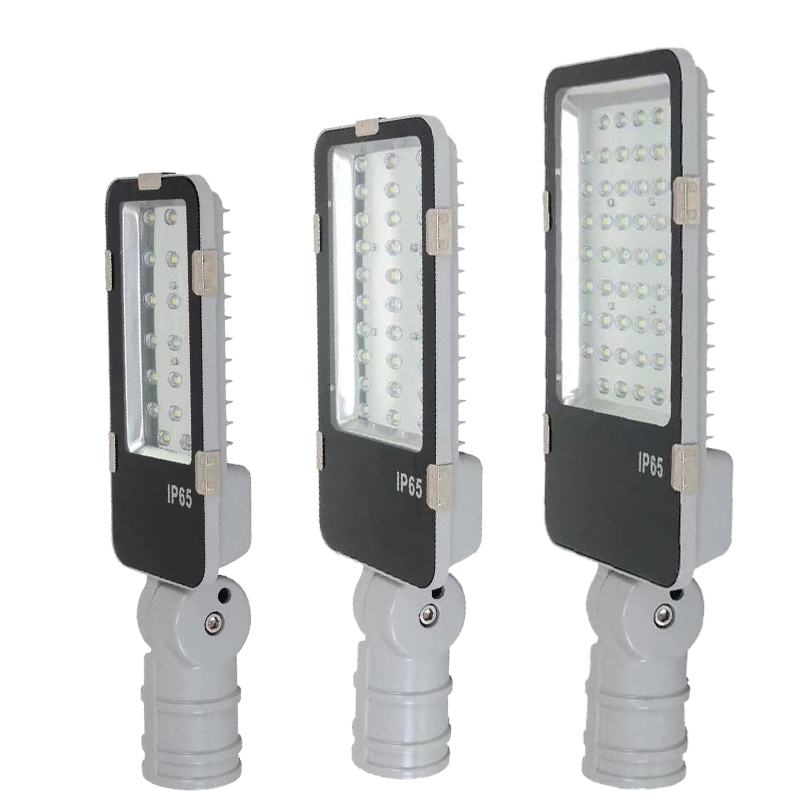 High Brightness Waterproof 20W 30W 50w Led Street Light Adjustable