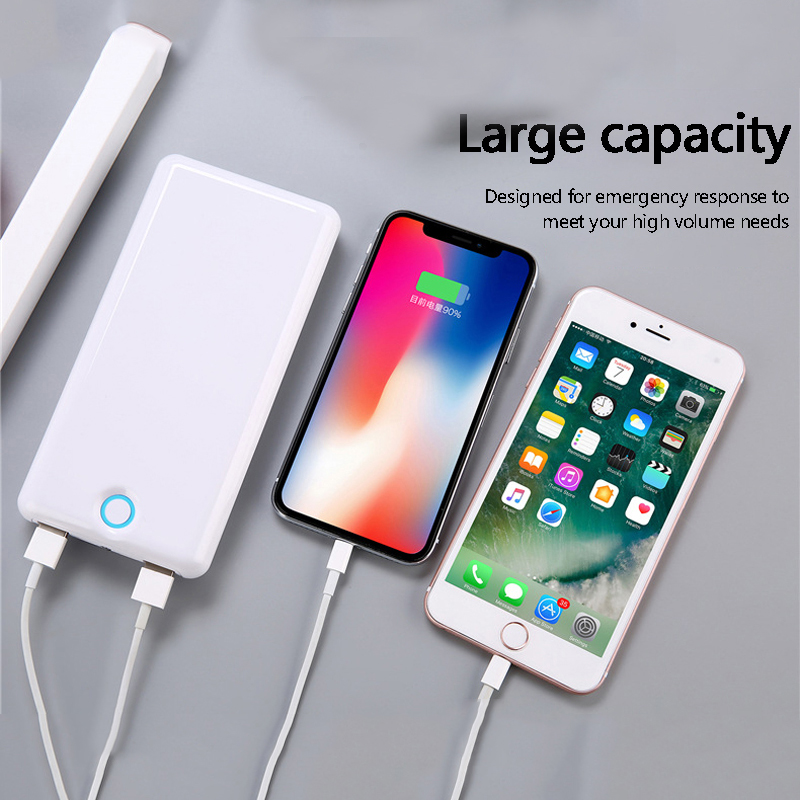 Batterie externe 30000 mah QC 3.0 Charge rapide Powerbank 30000 mah batterie externe chargeur portable pour xiaomi iPhone huawei Samsung
