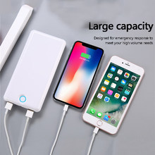 Power bank 30000 mah QC 3.0 Quick Charge Powerbank 30000 mah batterie externe draagbare oplader voor xiaomi iPhone huawei Samsung(China)