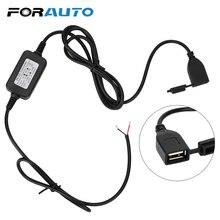 FORAUTO мотоциклетная USB розетка для телефона DC 12 В Vers 5 в адаптер gps питание порт розетка для Moto USB конвертер