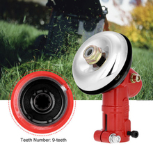 цена на Gearbox Gear Head Gearhead 26mm Diameter 9Teeth for Brush cutter Trimmer Strimmer For Garden  Lawn Tool Accessories