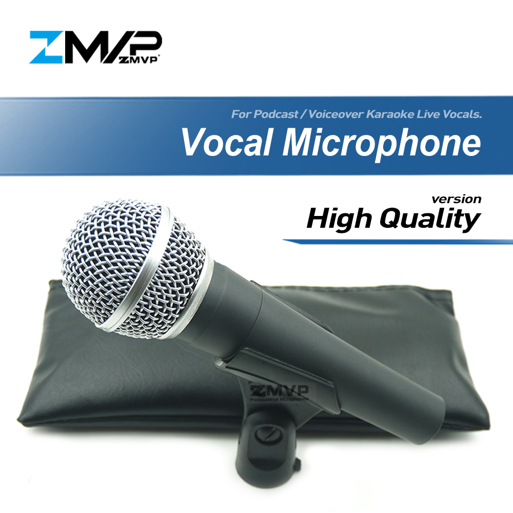 High Quality Version Professional 58LCH Wired Microphone Vocal Karaoke Handheld Dynamic Microfone Microfono Mike Mic