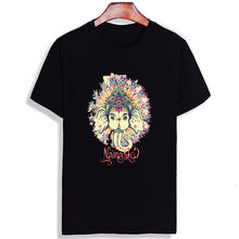 4c5168b7 Skipoem Funny Tshirt India Buddha Love And Peace Cotton O Neck T Shirt Plus  Size Short Sleeve Brand Female T-Shirt Femme