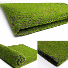 1pc high quality Artificial Moss Fake Green Plants Faux Moss Grass suitable for Shop Home clubs Patio Decoration 100*100cm