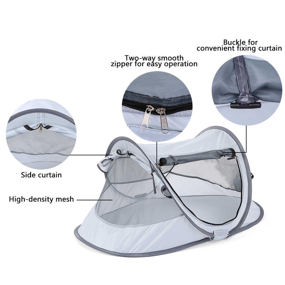 Pop Up детская Пляжная палатка Складная наружная кемпинговая палатка детский домик навес крытая детская игрушка Игровая палатка Солнце Укрытие Cabana Babysitter