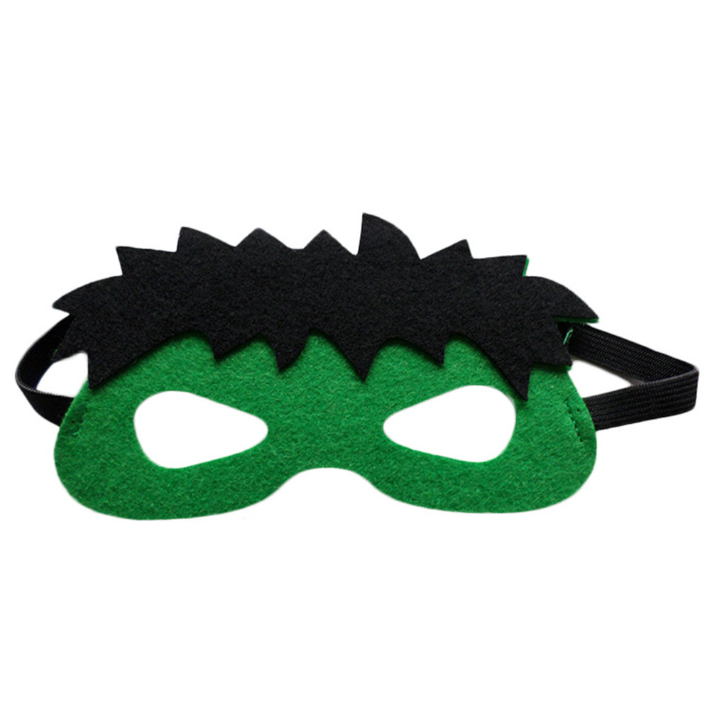 Image 3 - Wholesales 20pcs/lot Super Hero Cosplay Mask Halloween Party Dress up Costume Mask Kids Birthday Party Superhero Cos Favor Gifts-in Party Masks from Home & Garden