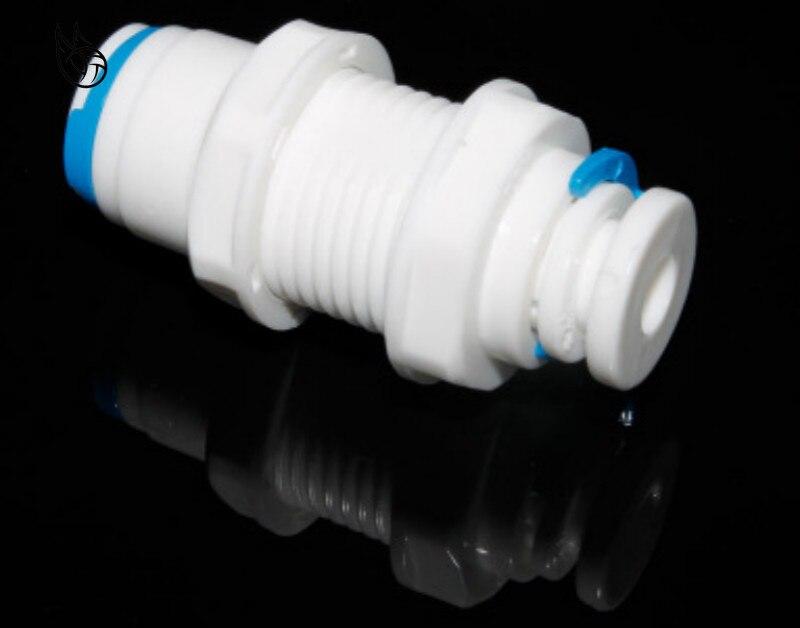Reverse Osmosis System Straight Bulkhead Equal 1/4