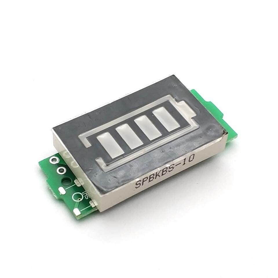 1S 2S 3S 4S Lithium Battery Capacity Indicator Module Meter Tester Display 4.2V 8.4V 12.6V 16.8V Power Level