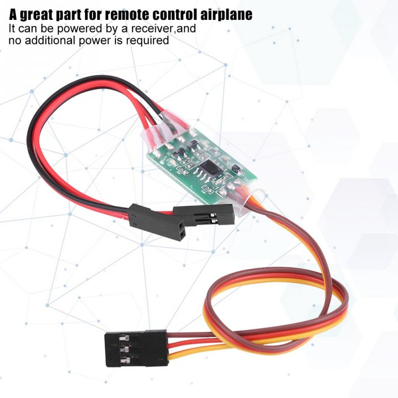 RC Igniter 2 In 1 Electronic Fuze Controller Remote Control Switch Ignition Lighter For RC Model Aircraft High Quality RC Part
