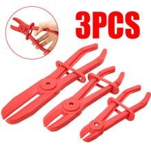 3Pcs/set 6/7/10 inch Brake Hose Pipe Clamp Plier Hands Tool Set For Brake Radiator Car Repair Tools Set Kit