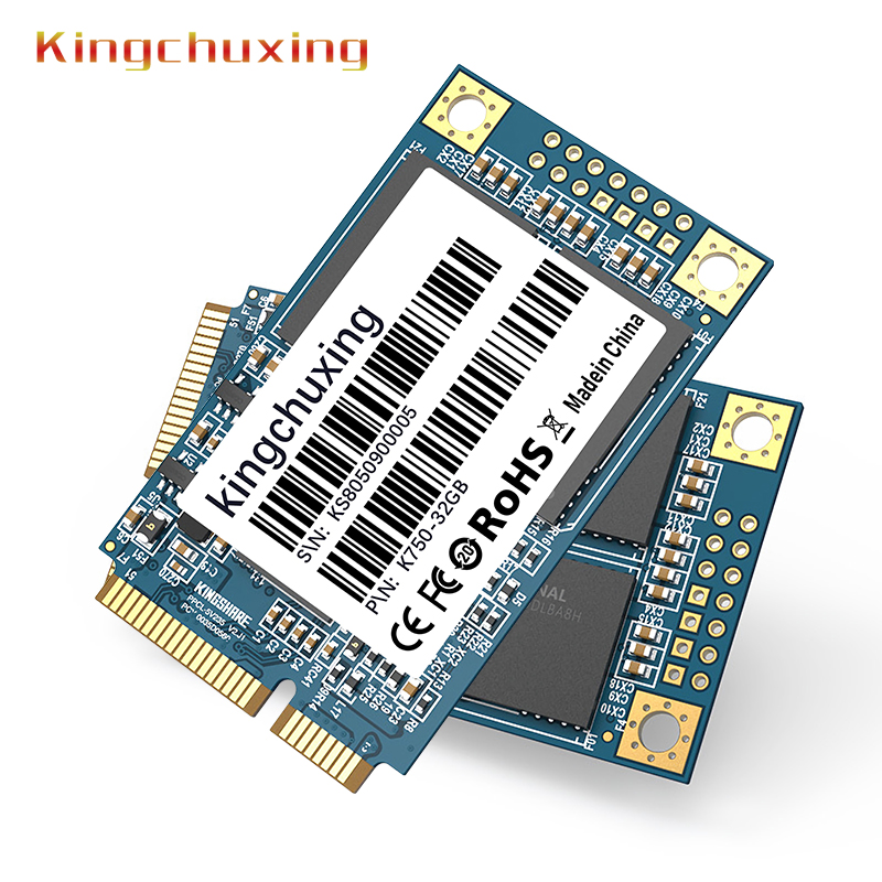 Mini PCIE mSATA SATA III 6GB/S SSD 128GB Hard Drive Solid State Drive Disk For Dell M6500 For Lenovo Y560 by Kingchuxing