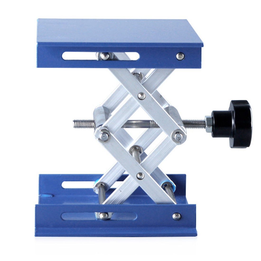 Woodworking Engraving Lab Lifting Stand Rack Lift Platform Aluminum Router Lift Table 100*100mm
