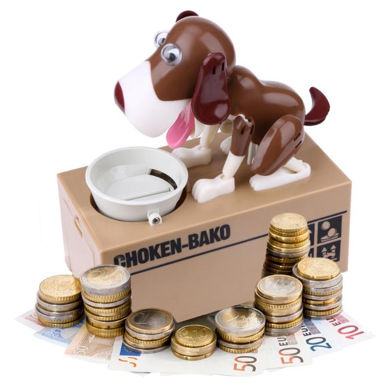 Haus & Garten Wohnkultur Kenntnisreich Cartoon Robotic Hund Geld Bank Automatische Stola Münze Piggy Bank Banco Geld Box Geld Sparen Banken Kinder Geschenk Weihnachten