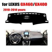 Car dashboard cover mat For LEXUS GX460 GX400 2010 2014 years Left hand drive dashmat pad dash covers auto dashboard accessories