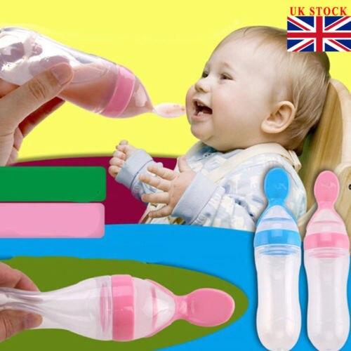 Baby Bottle w/ Feeding Spoon  2