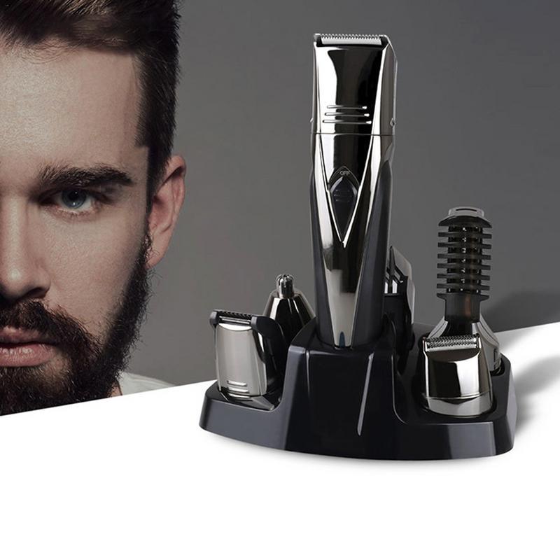 5 In1 Machine de coupe de cheveux tondeuse cheveux tondeuse nez cheveux la tondeuse à barbe Machine pour couper barbier coupe de cheveux Machine Ton