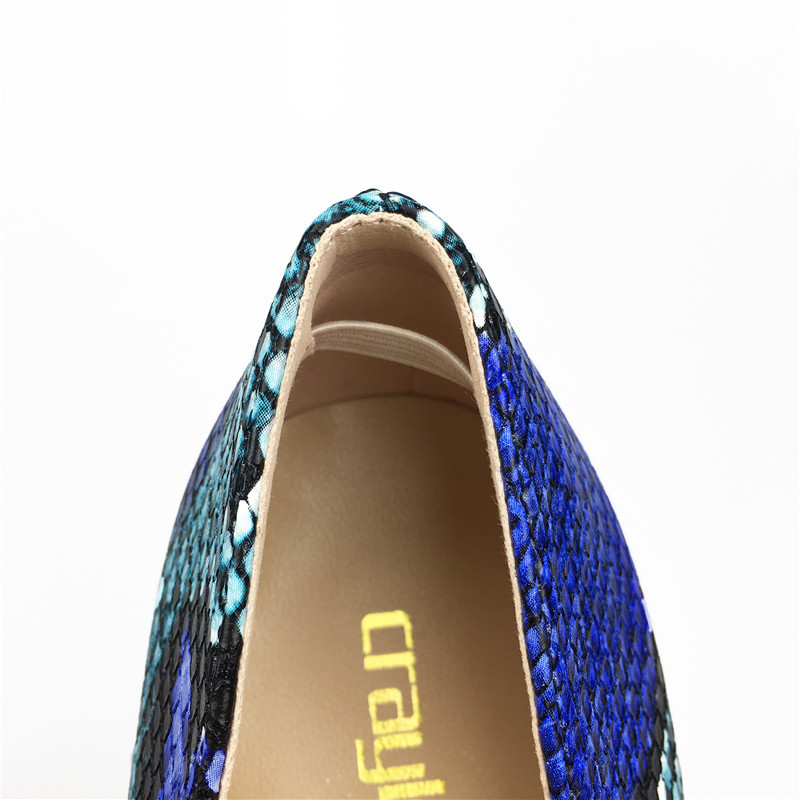 Heels Pointu Nouveau Hauts 10 12cm Heels Serpent 2018 Chaussures Pompes Femmes 8 Stylets 8cm Heels Bleu 10cm Imprimé Cm Bout Cm Talons 12 Cm Arrivent De Sexy Swxdqv6Hx
